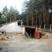 Bild Anbringen der Holzverkleidung