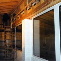 Bild Schallschutz mit einer Holzverkleidung